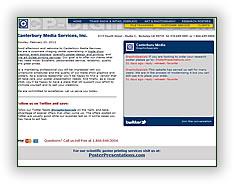 Canterbury Media Services